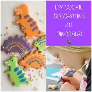 DIY cookie kit dinosaur
